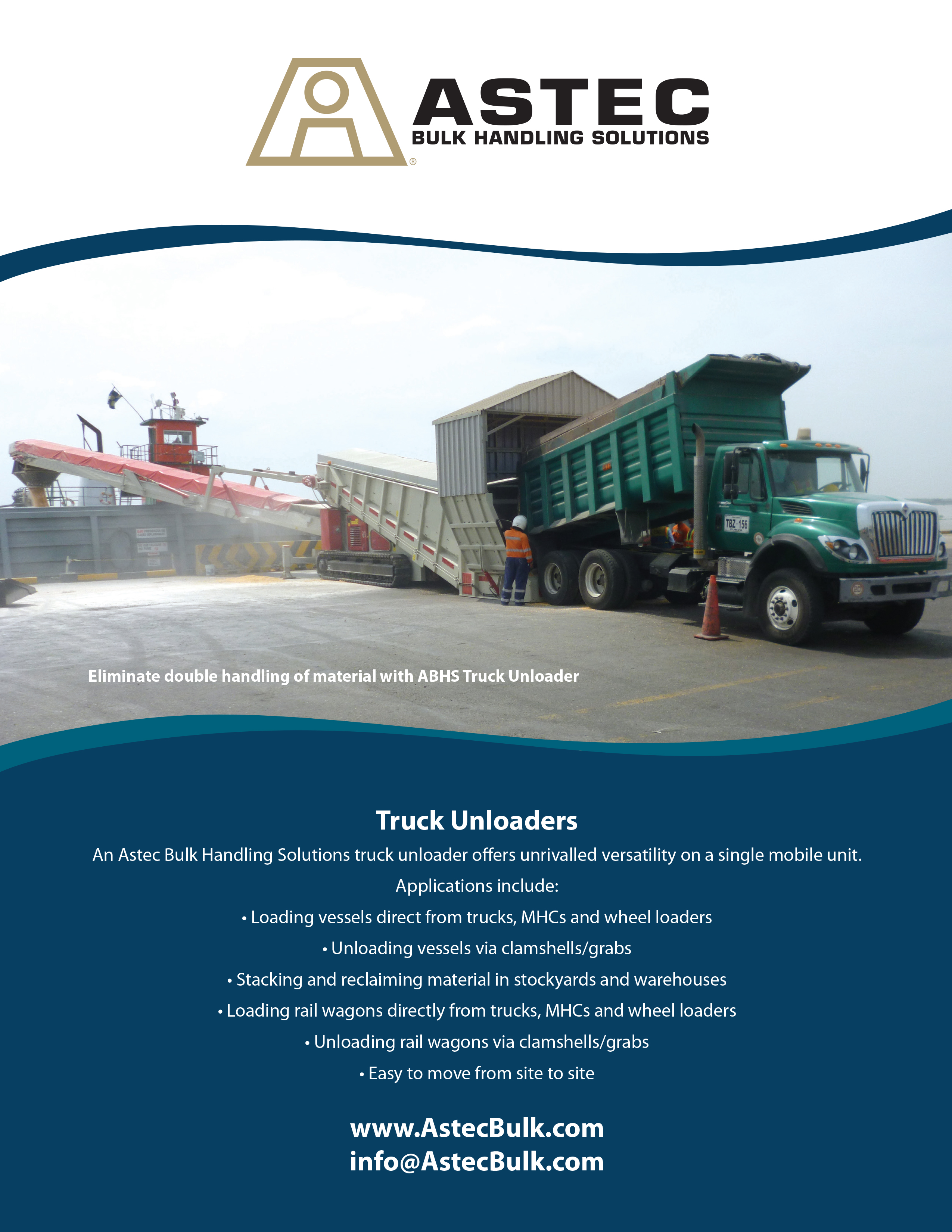 Find out about ABHS Truck Unloaders