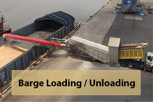ABHS Barge loading - Find Out More