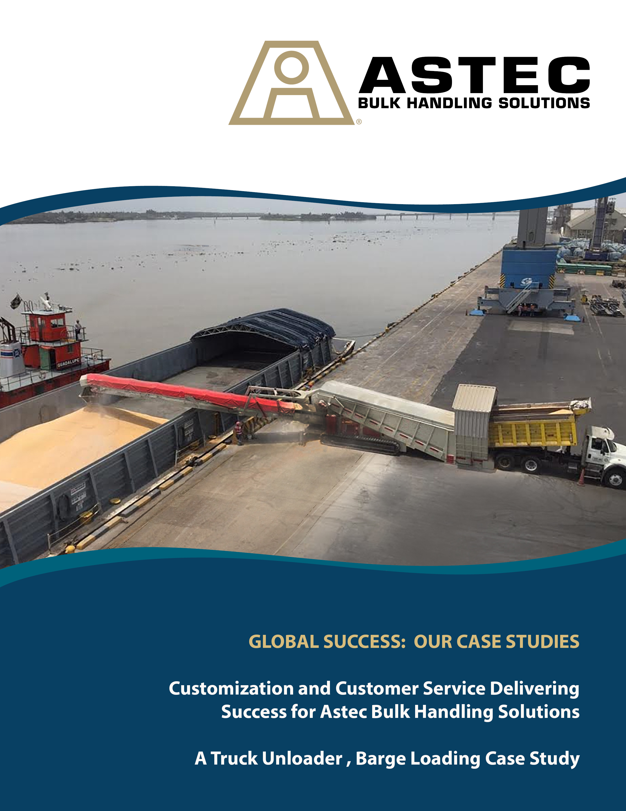 ABHS - Case Study - Truck Unloader in Barge Loading Application